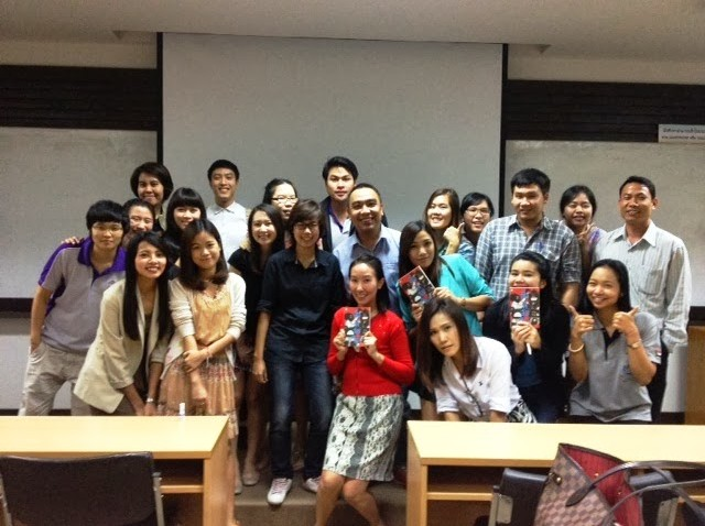 บรรยายเรื่อง Social Network ให้ นศ.MBA มช. : 28/9/2556