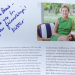 Conversation with Kristie Kenney in Chiangmai