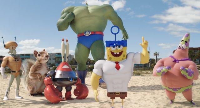 รีวิวหนัง : SPONGEBOB สพันจ์บ็อบ ฮีโร่จากใต้สมุทร 3D