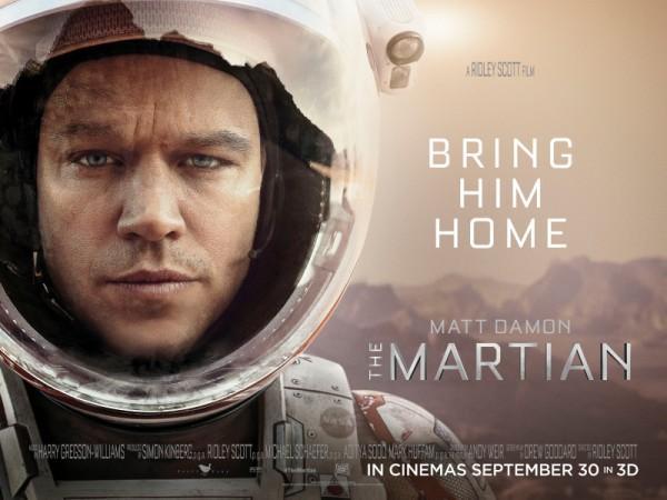 รีวิวหนัง | The Martian |เดอะ มาร์เชี่ยน กู้ตาย 140 ล้านไมล์