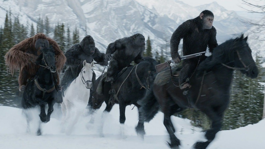 รีวิวหนัง War for the planet of the apes
