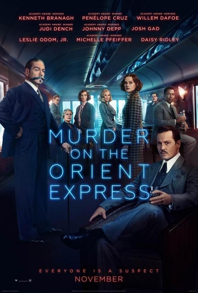 รีวิวหนัง Murder on the Orient Express ฆาตกรรมบนรถด่วน โอเรียนท์ เอ็กซ์เพรส