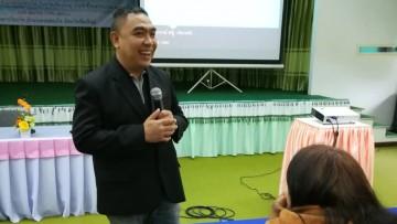 """บรรยาย หัวข้อ """"การพัฒนาศักยภาพบุคลากรท้องถิ่นสู่ไทยแลนด์ 4.0"""""""